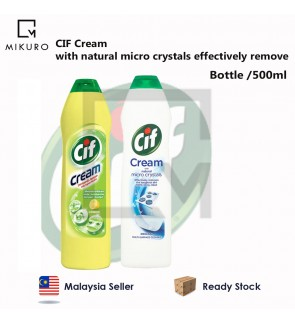 CIF Cream with natural micro crystals effectively remove 500ml