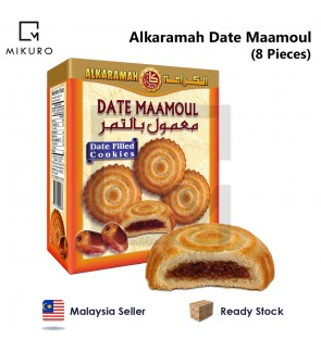 [PROMOTION] Alkaramah Date Maamoul (Date Filled Cookies) 8pcs x 31g