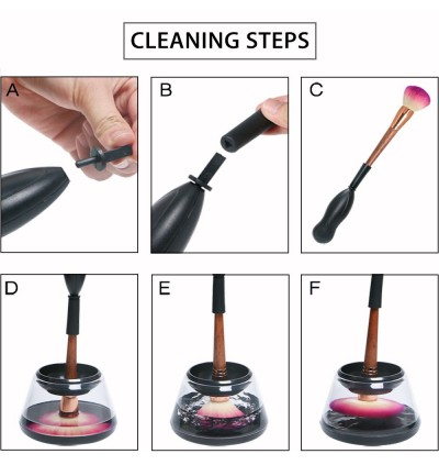 Automatic Spinning Make Up Brush Cleaner Electric Makeup Brush Cleaning Machine