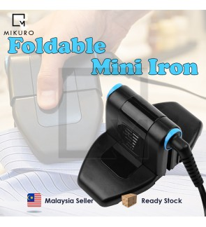 6 Speed Adjustment Folding Portable Iron Compact Press Up and Perfect Foldable Travel Iron Foldable